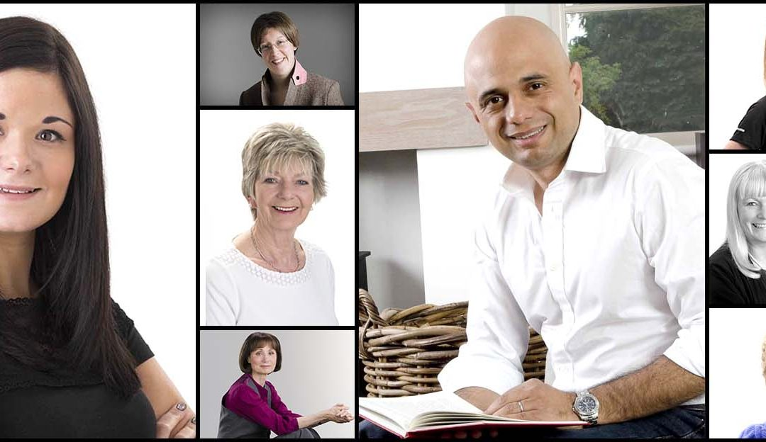 Smart new corporate portrait or head shot for your website & literature?