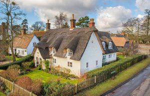 Six stunning village properties close to the village green