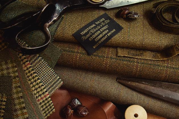 bespoke shooting tweeds