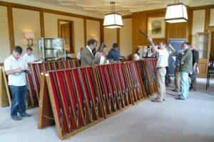 buying a gun at auction