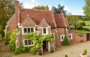 A Tudor-style house with character and land, within easy reach of the city