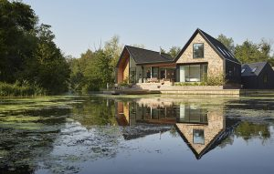 How to create a new build country house