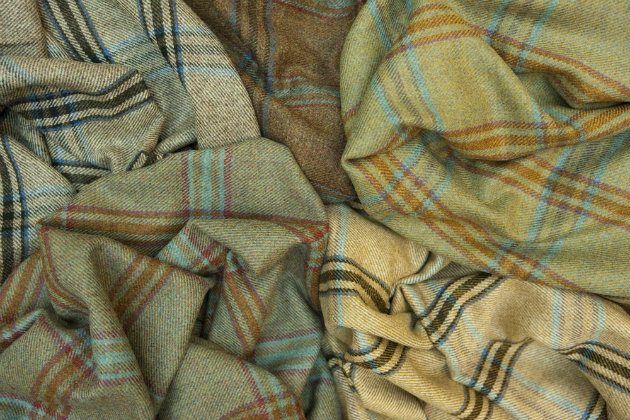 Tempting selection of tweeds by Huntsman