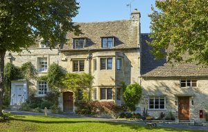 Current Business News | Cotswold town house with a pretty cottage in the garden
