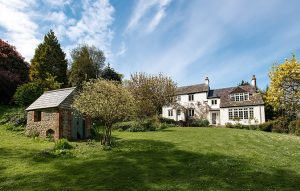 A 200 year old cottage with fabulous views over the Marshwood Vale