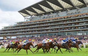 Rich pageantry, high living and fast horses at Britain's finest racing festival