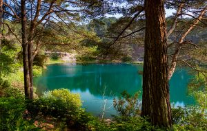 How a disused quarry turned into one of Britain's most beautiful lakes