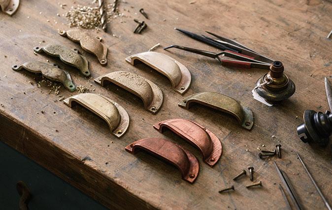Devol kitchen handles