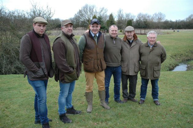 clay shooting lesson group