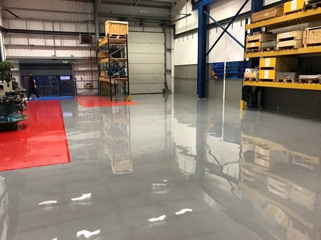 Hygienic Floor Coatings – Industrial Flooring The PSC Way