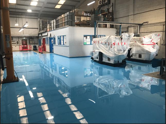 Industrial floor coating – a tough, durablefactory flooring