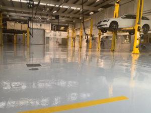 Workshop flooring