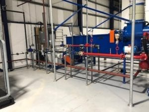 Steam and Condensate System Installation
