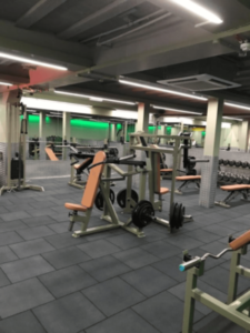 free weights gym