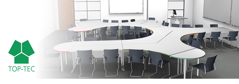 Agile Workspaces by TOP-TEC – Boosts Collaboration & Productivity