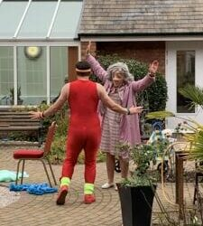 Love Through Double Glazing | Vamos Theatre at Stanfield Nursing Home