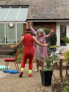 Love Through Double Glazing | Vamos Theatre at Stanfield Nursing Home
